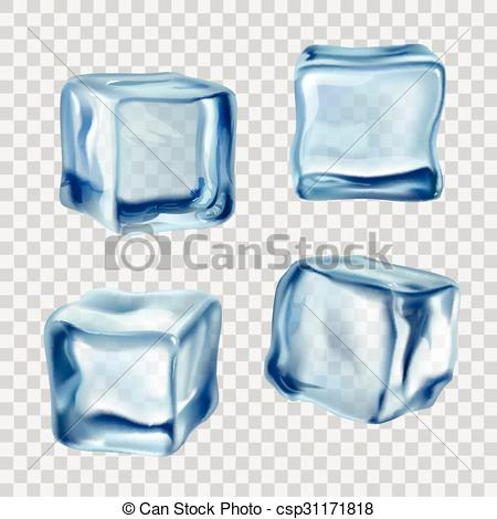 Ice Cube clipart solid  Ice Transparent of Art