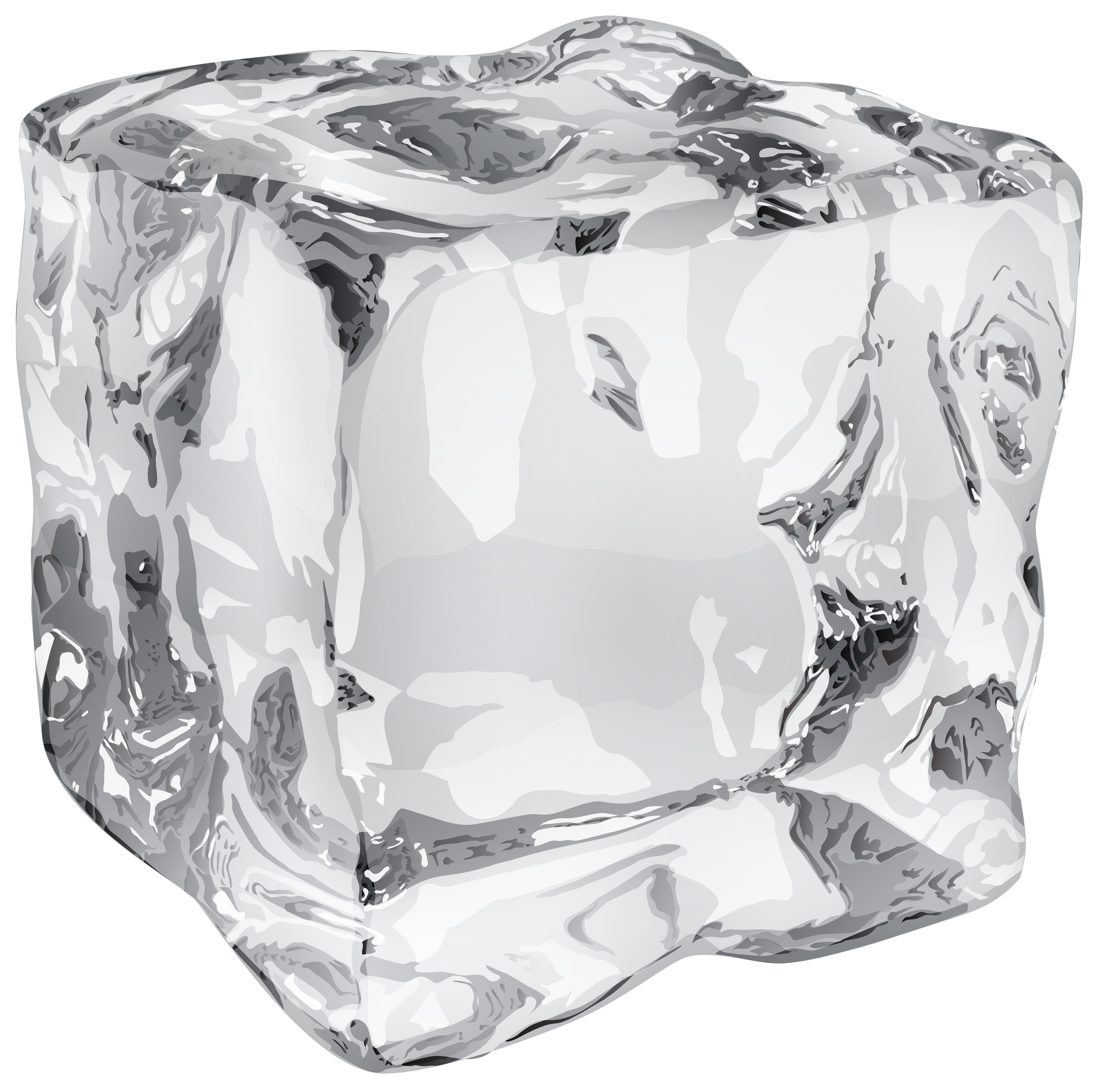 Ice Cube clipart transparent  Ice Image View Yopriceville