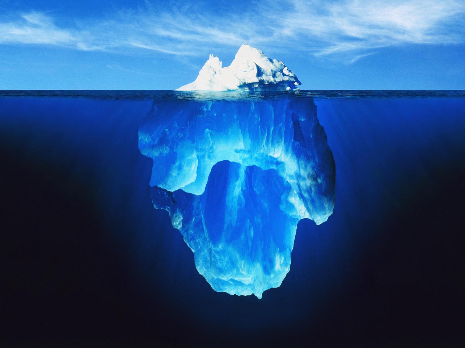 Titanic clipart Tip The Clipart Iceberg