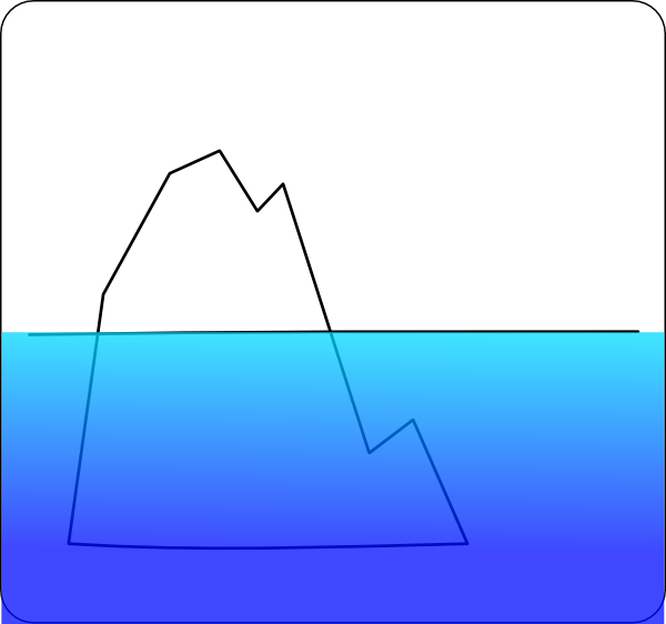 Iceberg clipart Iceberg Clipart Iceberg Clipart Bay