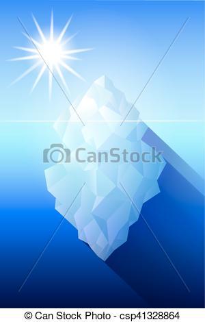 Antarctica clipart iceberg Clip Antarctica illustration Vector Art