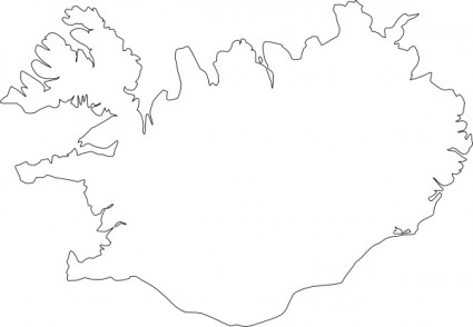 Iceland clipart Iceland Map Clip Art Download