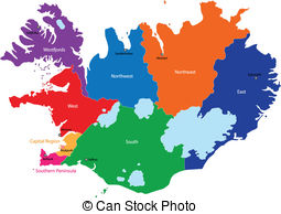 Iceland clipart Illustrations Map   of