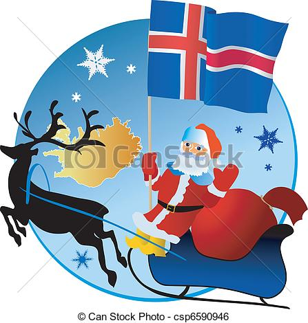 Iceland clipart Csp6590946 Merry Instant  Merry