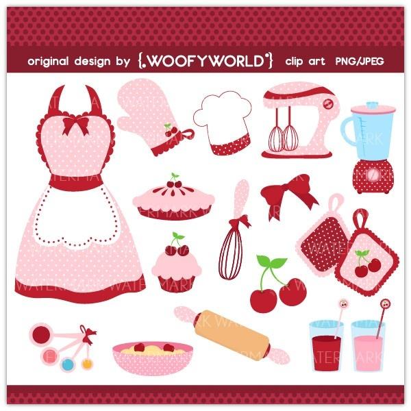 Iiii clipart cherry Images kitchen 143 Baking~Cooking~Treats digital