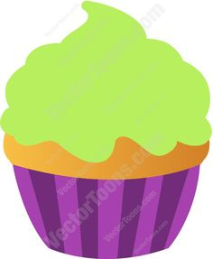 Icing clipart plain cupcake With  With Cupcake Lime