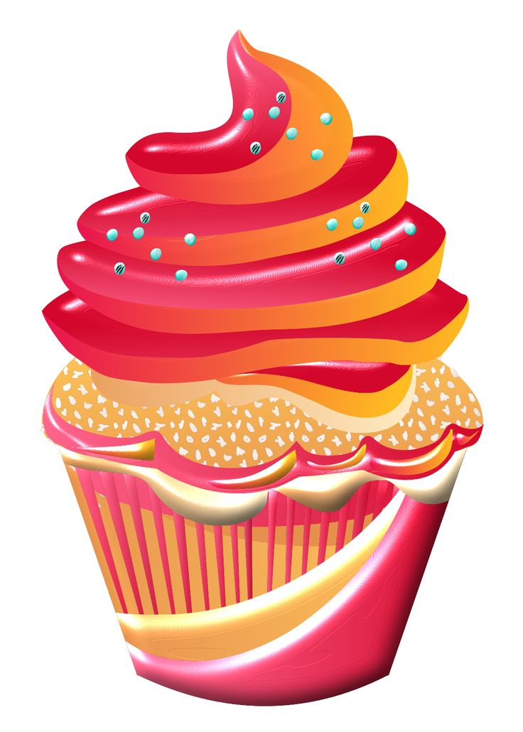 Icing clipart red cupcake Pinterest images best CUPCAKES *✿**✿*CUPCAKE*✿**✿*