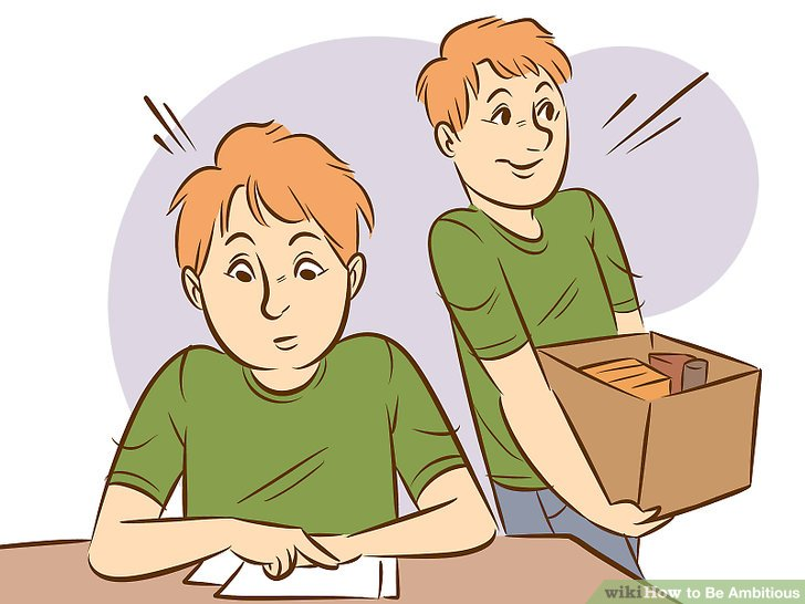 Idea clipart ambitious Be Ambitious wikiHow Image to