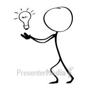 Release idea Idea light bulb