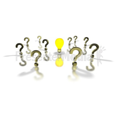 Idea clipart answer  1284 Health The Midst