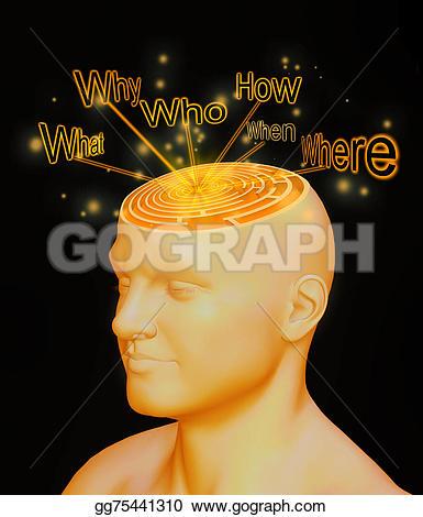 Idea clipart answer Illustration  Clipart gg75441310 Confusion