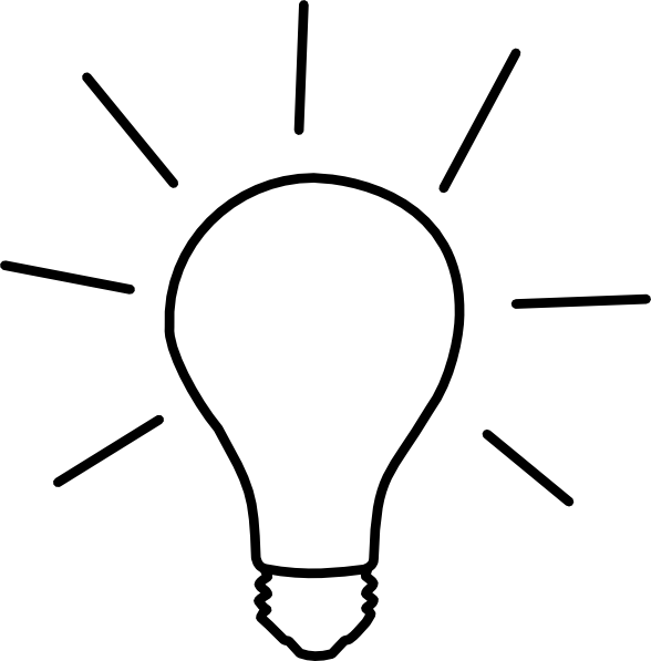 Lamps clipart thinking Image this Clker Light