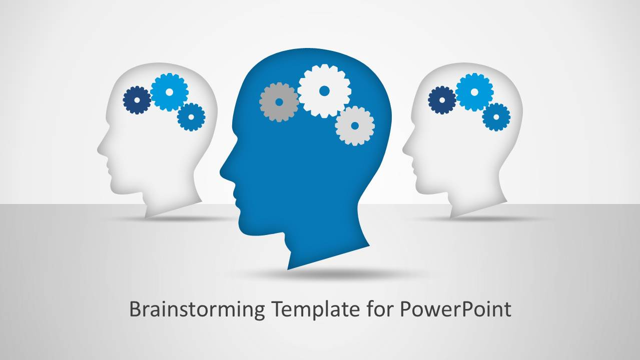 Creative clipart powerpoint PowerPoint Template Brainstorming PowerPoint Clipart