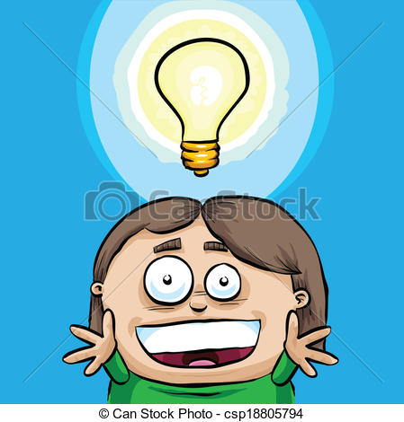 Bright clipart bright idea 623 Vector Idea being Bright