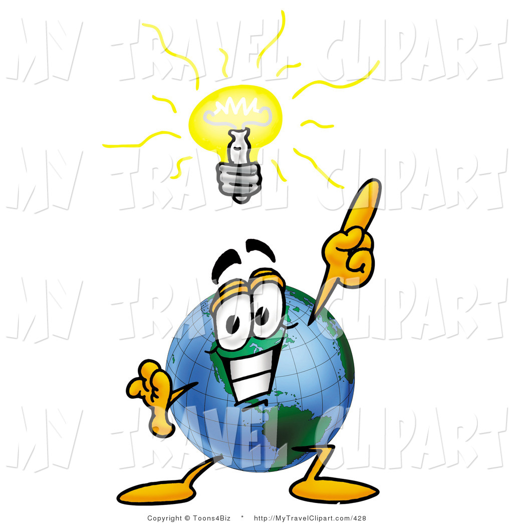 Bright clipart brilliant idea Of with Bright of Earth