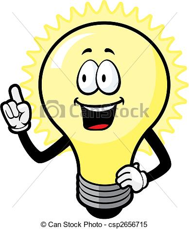 Lamps clipart idea lamp Bulb Light bulb  A