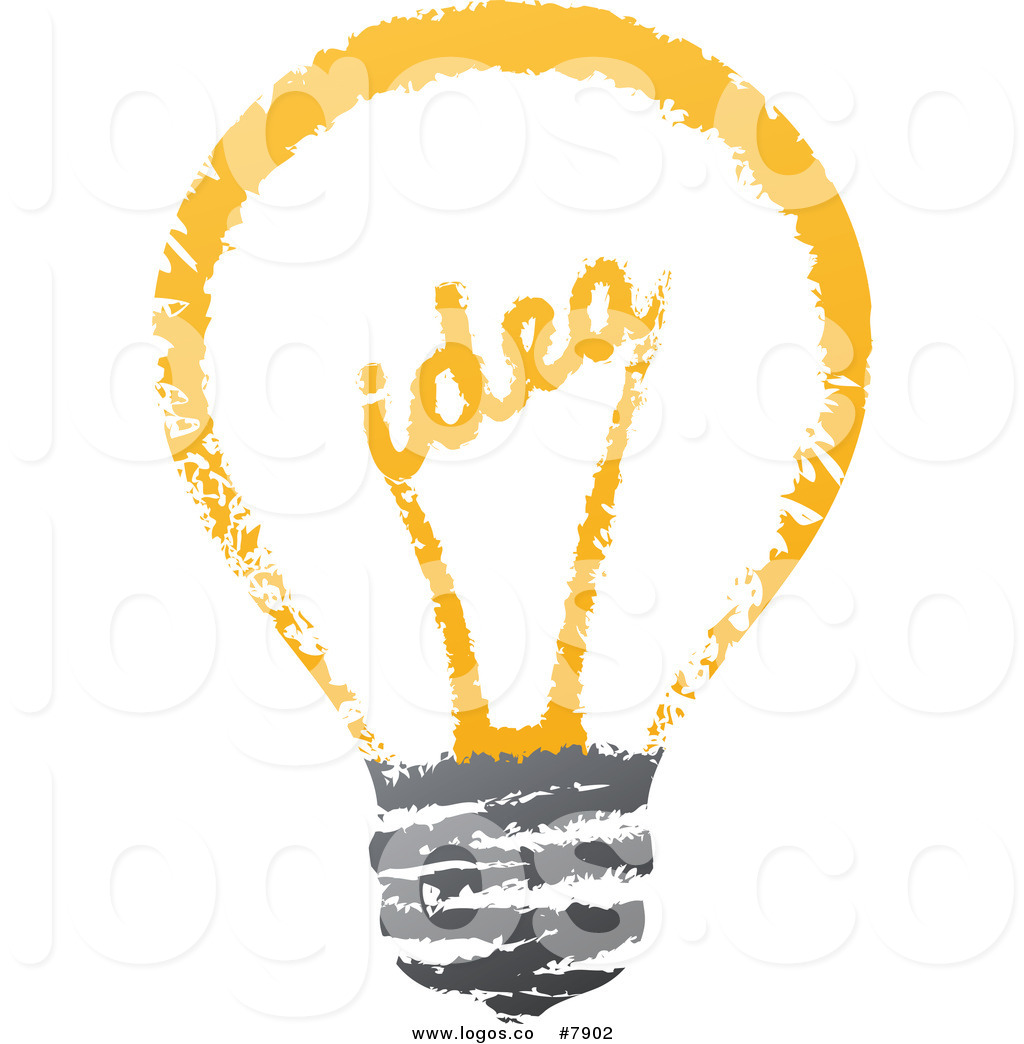 Creative clipart light bulb Sketched Free Art  Clip