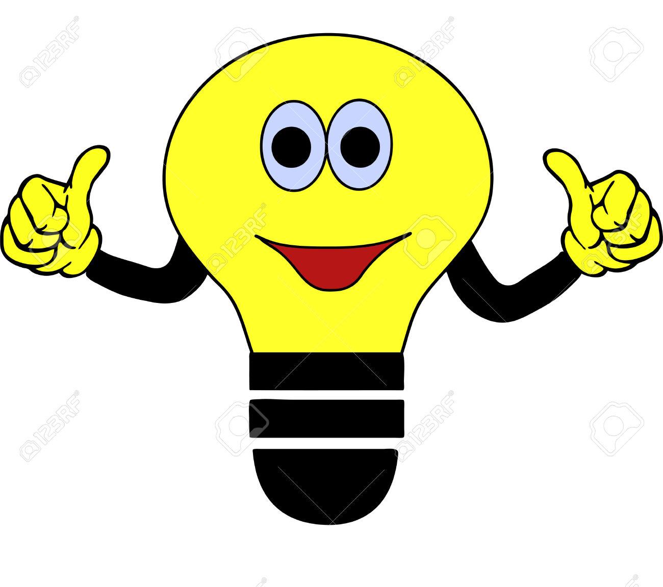 Bulb clipart cartoon Idea Bulb Clipart Idea Clipart