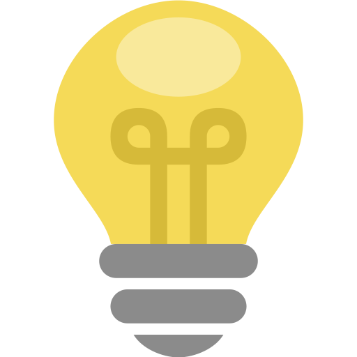Idea clipart electric bulb Energy lamp thought thought icon