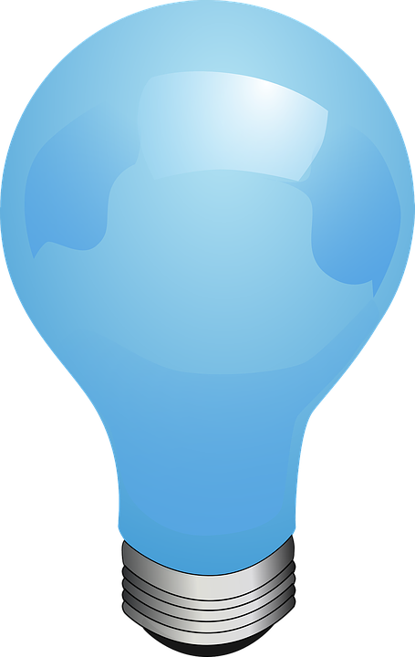 Oil Lamp clipart lighting Photo Light Blue Bulb Idea