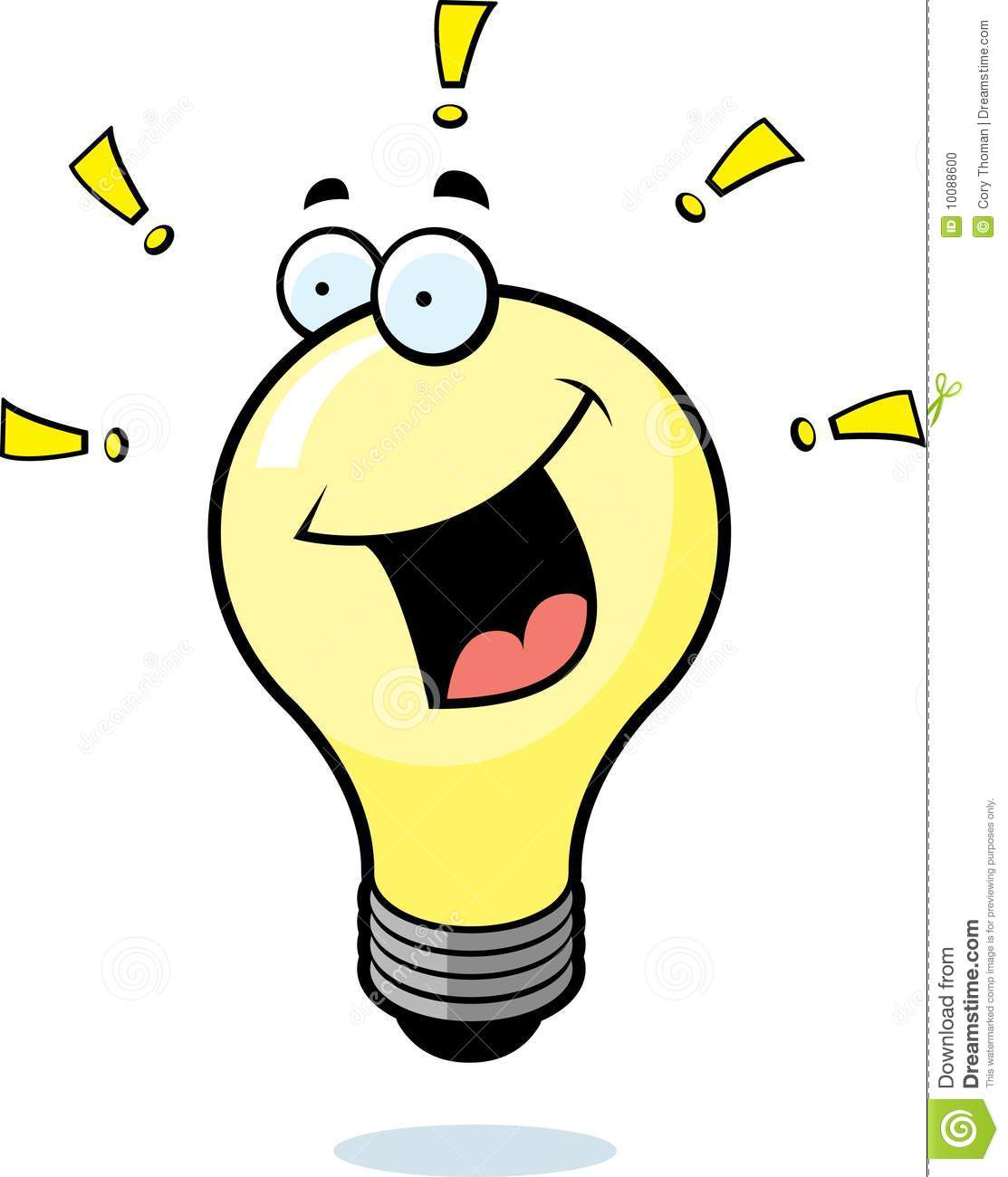 Lamps clipart thinking Clipart Free Bulb Light