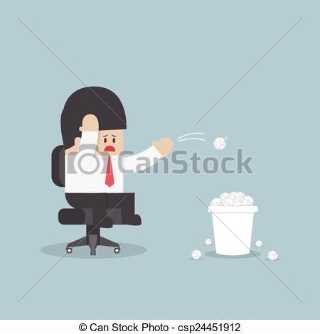 Idea clipart have no Businessman idea throwing have Businessman