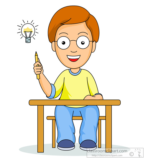 Moving clipart student Student #3060 Thinking  Clipart