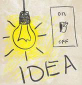 Idea clipart lamp Idea Royalty Innovative lamp Free