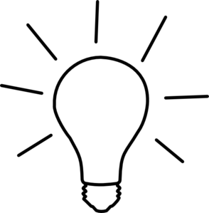 Idea clipart light bulb Clip Clker at Light Art