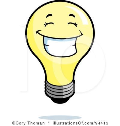 Idea clipart light bulb Bulb Light Art Clipart Idea