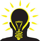 Bulb clipart brain Idea Clip Lightbulb idea Art