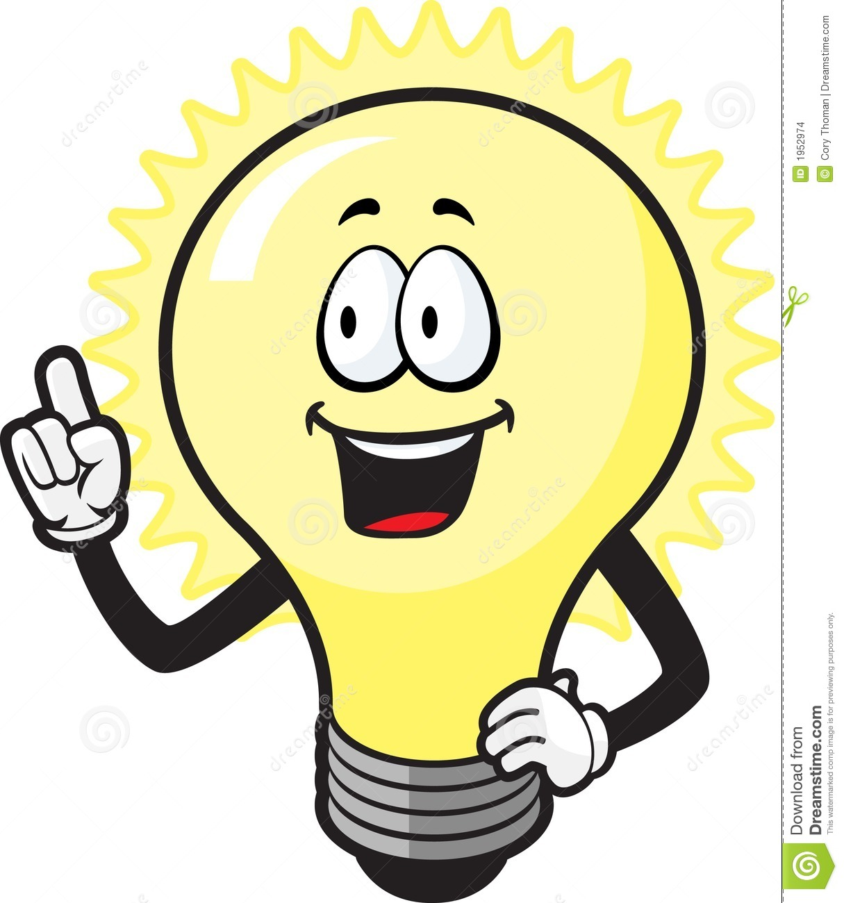 Lamps clipart thinker Lightbulb art bulb & light