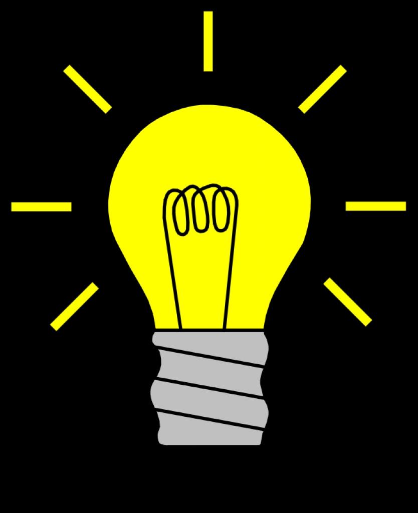 Bulb clipart cartoon Light Art Light Png Bulb