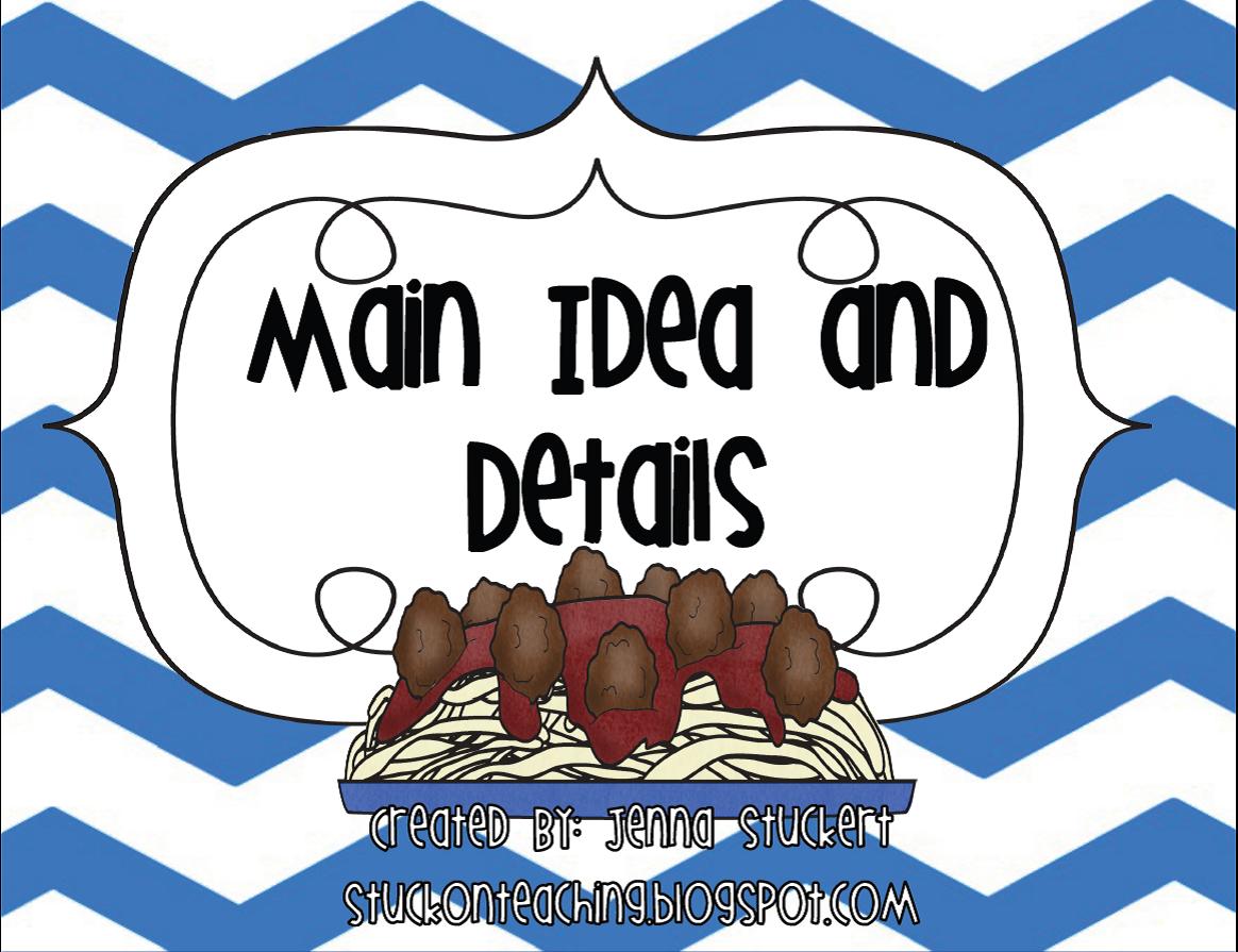 Bulb clipart main idea Main Details; Reading & collection