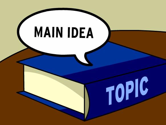 Knowledge clipart cartoon Main Idea BrainPOP