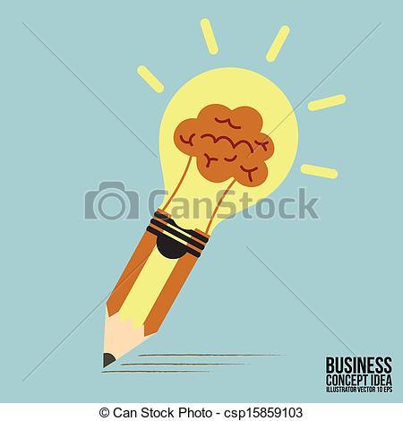 Idea clipart pencil Lamp Abstract Pencil Clipart