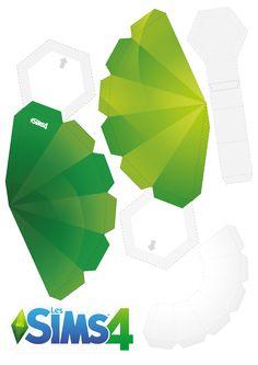Idea clipart sim  Papercraft com on idea