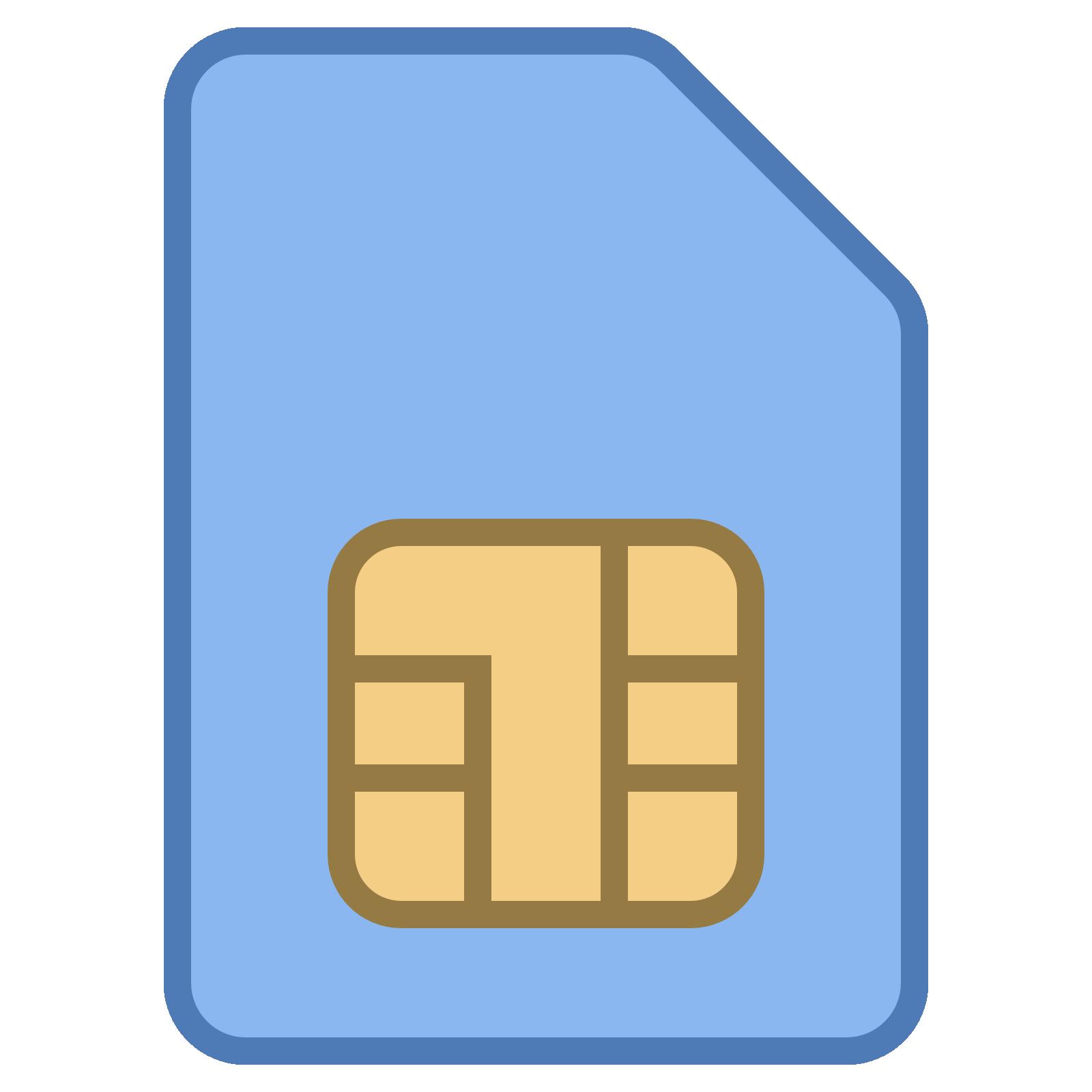 Idea clipart sim Icon Icons8 Card Download Card