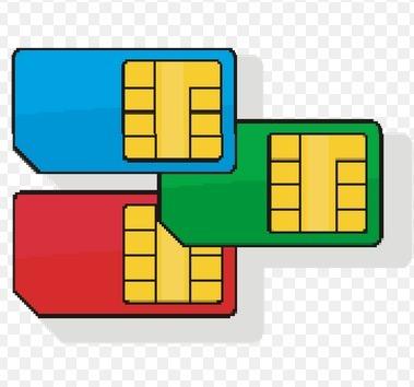 Idea clipart sim Card Pre Idea Service Card