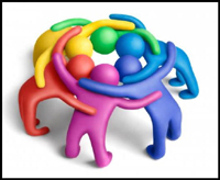 Business clipart huddle #5
