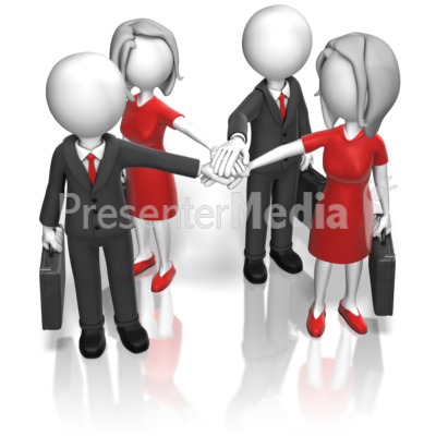 Business clipart huddle #1