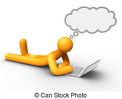Think clipart Thinker Clipart #9
