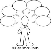 Men clipart thinker Man and of 585 Stock