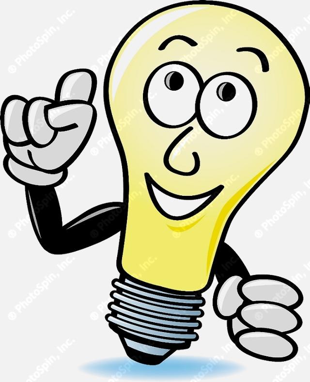 Lamps clipart thinking Bulb Light Clipart Idea Clipart