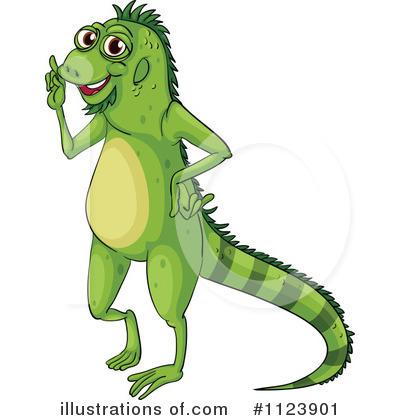Iguana clipart Clipart Illustration Iguana Illustration Free
