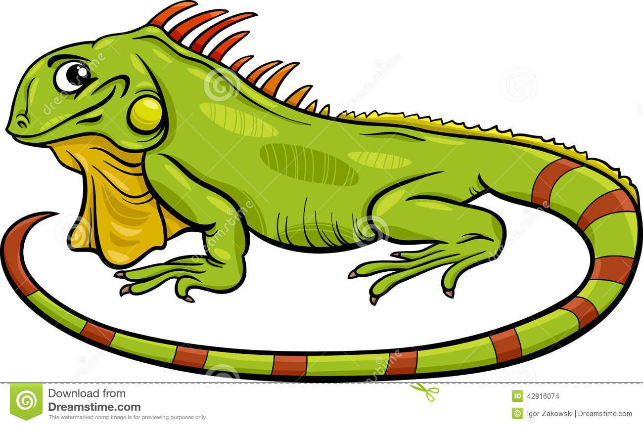 Reptile clipart iguana #1