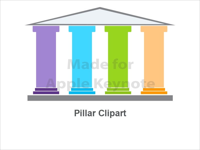 Iiii clipart pencil Clip Pillars – 4 Clip