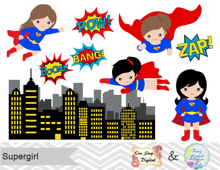 Iiii clipart tier cake Art Digital Digital Supergirl Superheroes
