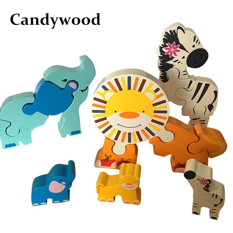 Iiii clipart animal number Candywood 3d 3D Puzzle Animal