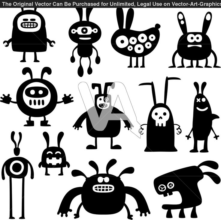 Iiii clipart animal number Mythological cute of Cartoon Collection